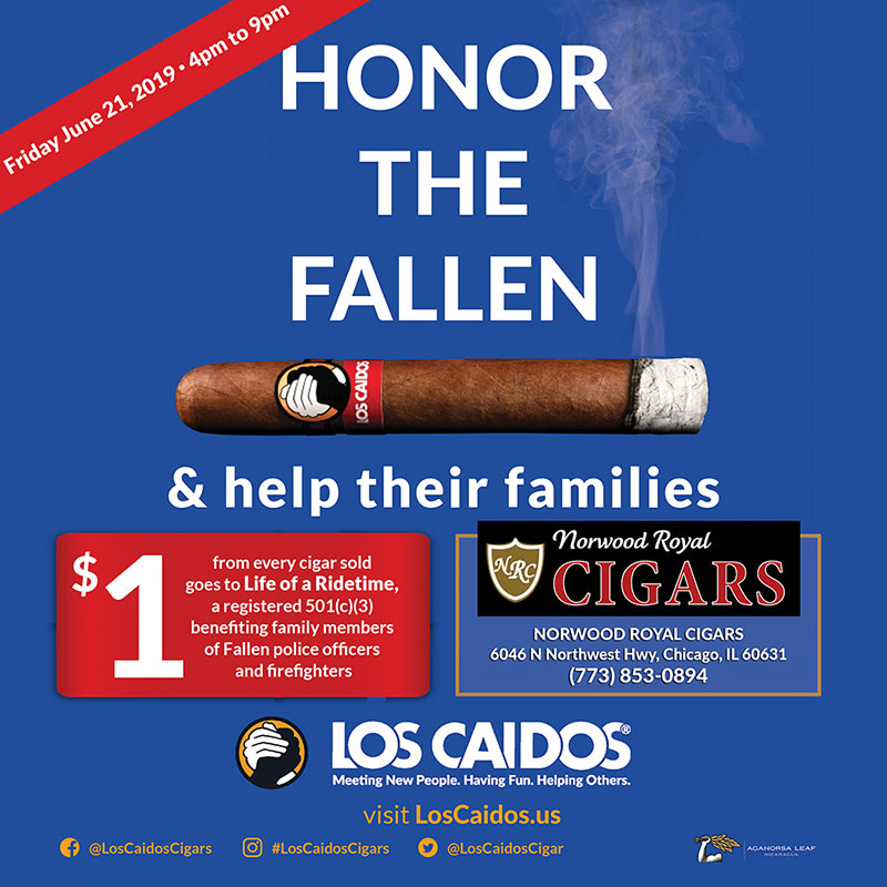 Honor the Fallen Cigar Event