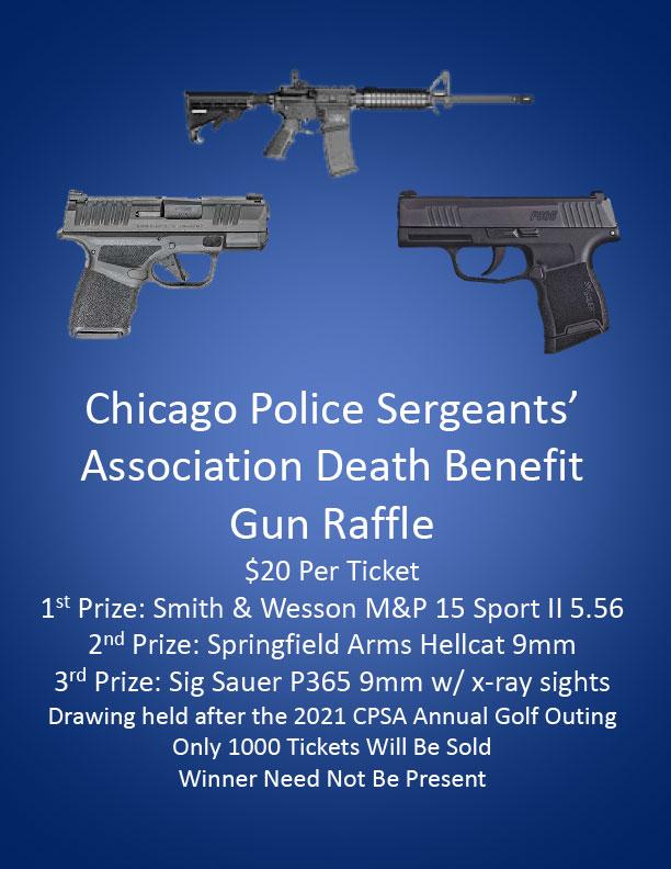 CPSA Death Benefit Gun Raffle